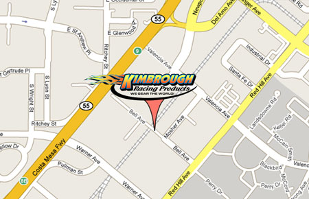 Map to Kimbrough Racing Products